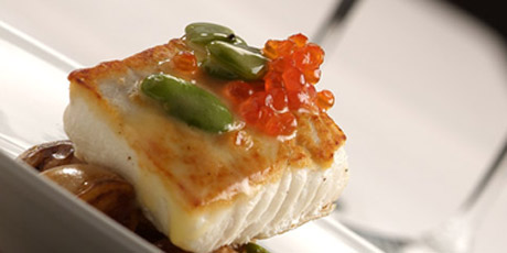 Roasted British Columbian Halibut