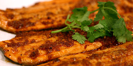 Roasted Ocean Trout with Tandoori Spices