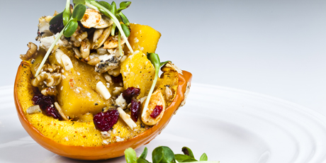 Roasted Squash and Seed Salad