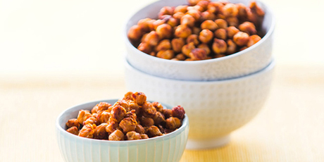 Roasted Sweet and Salty Chickpeas