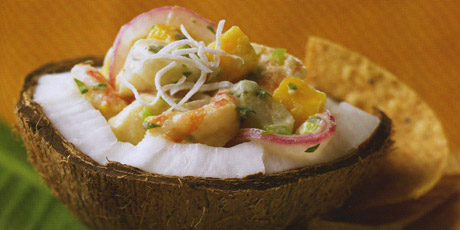 Shrimp and Scallop Coconut Ceviche