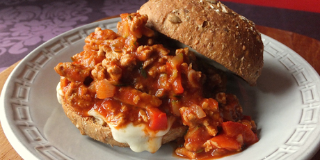 Sloppy Joes with Cheese