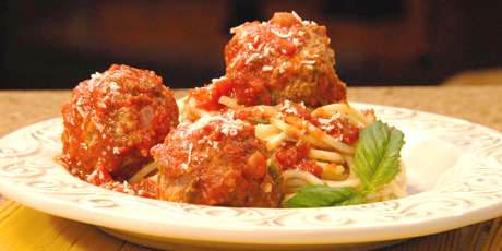 Someone Pasta Meatballs