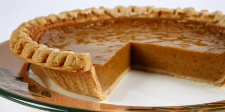 Spicy Maple Pumpkin Pie