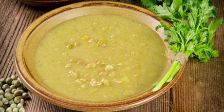 Split Pea and Ginger Soup