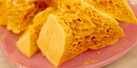 Christine Cushing S Sponge Toffee Recipes Food Network