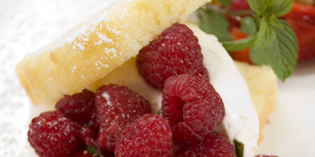 Raspberry Mascarpone Trifle