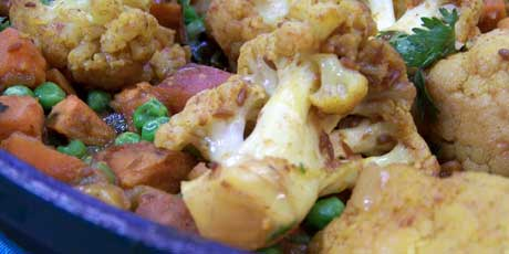 Sweet Potato Aloo Gobi
