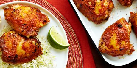 Tandoori-Style鸡