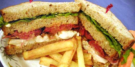 The Most Incredible Club Sandwich