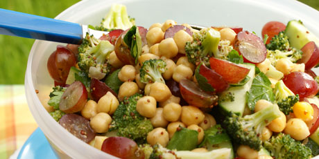 Vegetable Salad With Grapes Recipes Food Network Canada