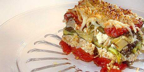 Vegetarian No Pasta Lasagna Recipes Food Network Canada
