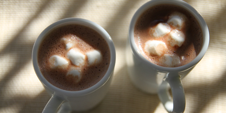 Virtuously Rich Hot Chocolate