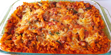 Weeknight Zesty Italian Sausage Pasta Bake