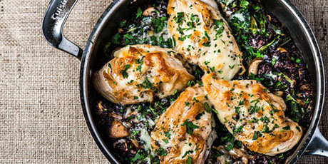 Wild Rice Chicken Skillet