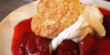 Winterberry Shortcake