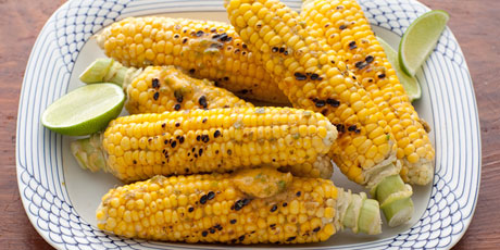 Jalapeno-Lime Corn on The Cob