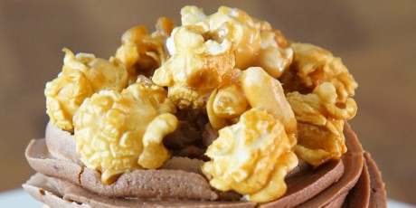 Caramel Peanut Popcorn by Crave Cupcakes