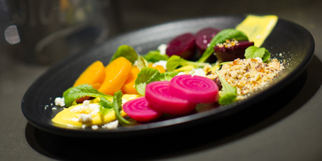 Lightly Pickled Summer Beet Salad