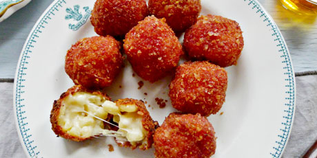 Ketchup Chip Mac n' Cheese Balls