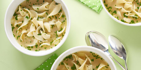 Alton Brown's Chicken Noodle Soup