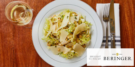 Pear and Endive Salad with Honey Thyme Vinaigrette
