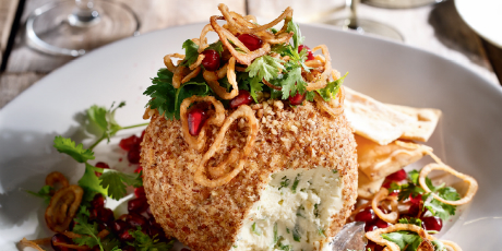 Pecan and Jalapeno Cheese Ball