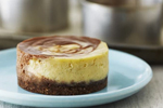 Anna Olson's Chocolate Swirl Cheesecakes