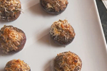 Nancy Fuller's Sausage-Stuffed Mushrooms