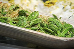 Fiddleheads with Soya Sauce