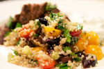 Bobby Flay's Greek Quinoa Salad
