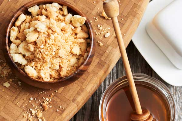 Honey Streusel Topping