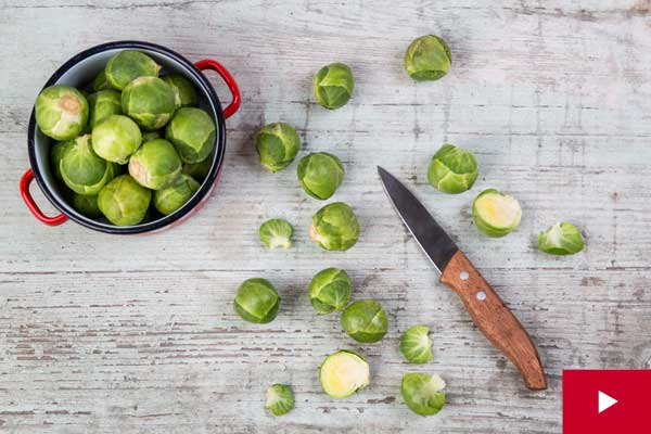 Watch: How to Select, Prep and Store Brussels Sprouts