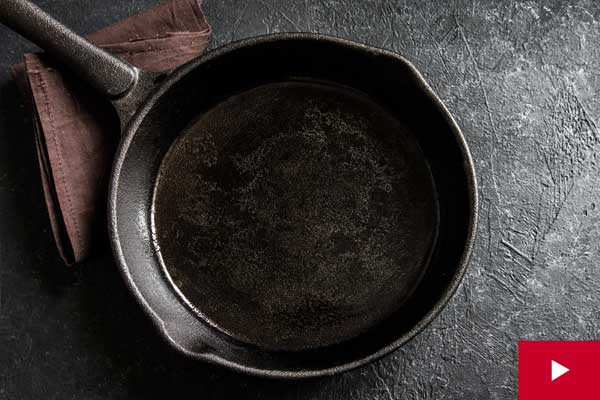Watch: How to Care for Cast Iron Pans