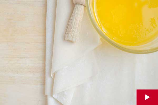 Watch: How to Handle Phyllo Dough and Store Leftover Sheets