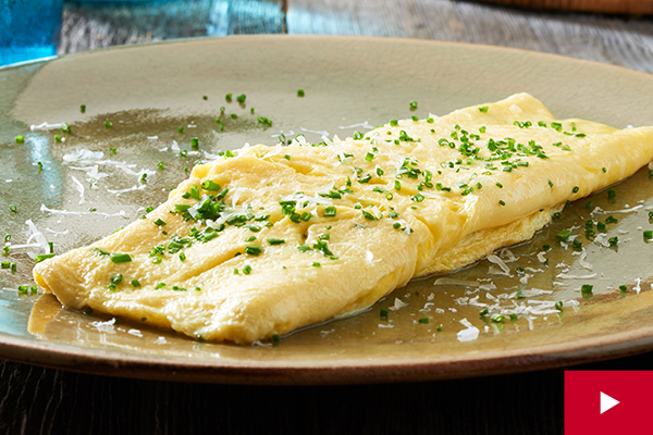 How to Make a Classic Omelette in the Broiler