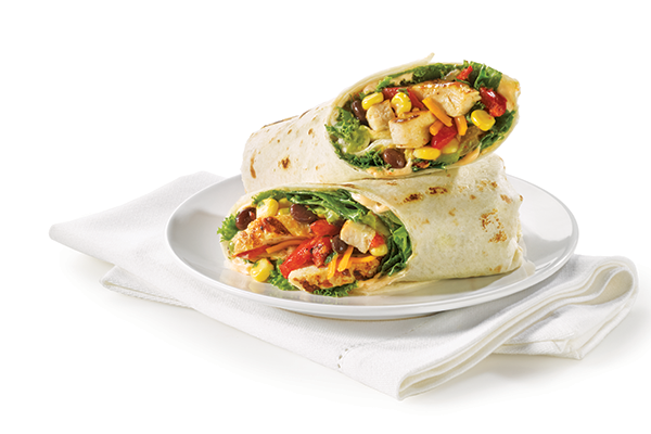 Grilled Chicken Tex-Mex Wrap