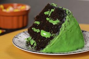 Ooey Gooey Slime Poke Cake