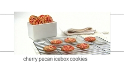 Cherry Pecan Icebox Cookies Sugar Foodnetwork Ca
