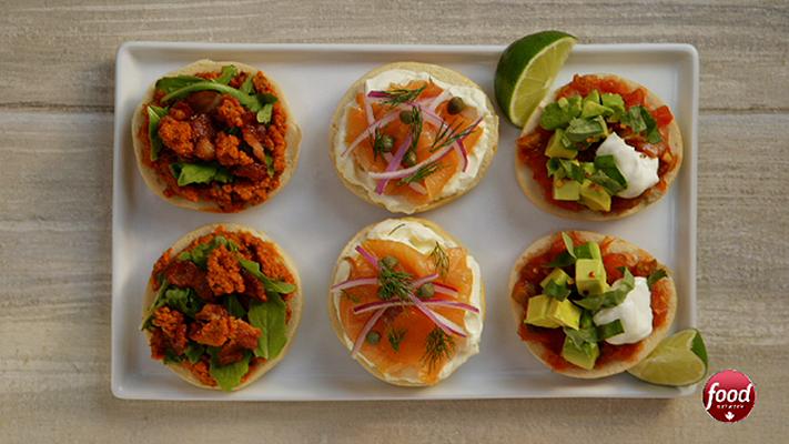Great canadian cookbook video 3 mini bagel recipes foodnetwork 1 3 mini bagel recipes forumfinder Choice Image