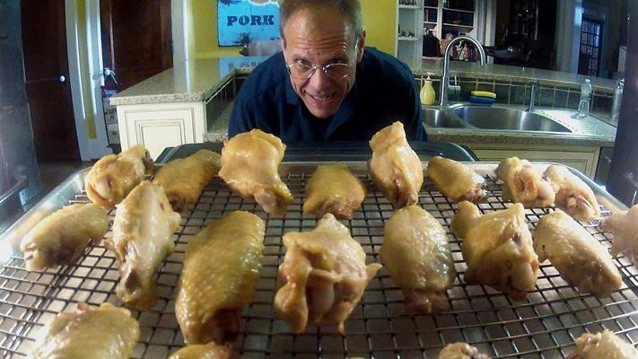 Alton Browns Crispy Oven Chicken Wings
