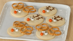 Easy Rudolph Holiday Cookies Bake With Anna Olson Foodnetwork Ca