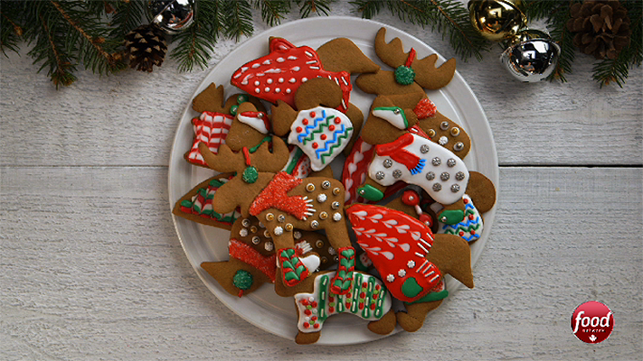 Great Canadian Cookbook Video Ugly Christmas Sweater Cookies
