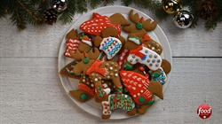 Ugly Christmas Sweater Cookies Great Canadian Cookbook Foodnetwork Ca