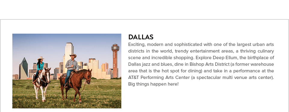 Learn more about Dallas